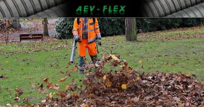 Tuyaux flexibles aspiration feuilles pour services techniques, mairies et collectivités